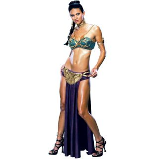 Star Wars Princess Leia Slave Adult Womens Super Sexy Halloween