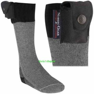 Lectra Sox Battery Heated Electric Socks, NIB Size. Med. (NEW)