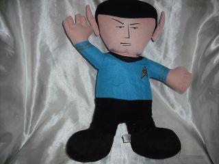 Trek Mister Spock Mr Cloth Doll 2009 Toy Factory Leonard Nimoy