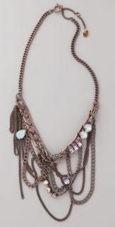 Juicy Couture Antique Bib Necklace