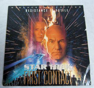 First Contact Digital Laser Disc Movie starring Patrick Stewart
