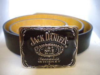 Jack Daniels L B Buckle with Free Black Belt