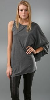 Haute Hippie Angel Wing Sleeve Top