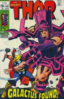 Jack Kirby The Mighty Thor 168 Production Art Cover