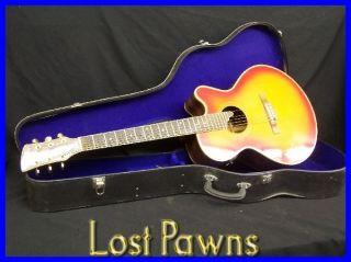 Charvel Jackson 625C Acoustic Electric Guitar w Case