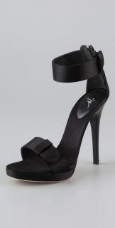 Giuseppe Zanotti Satin High Heel Sandals
