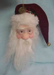 Jacqueline Kent Collection Christmas Ornament Santas There MIB