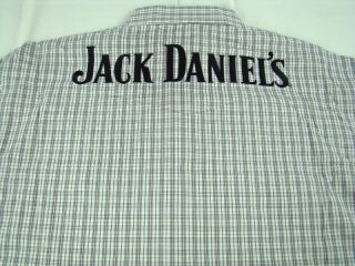 Mens Wrangler Jack Daniels Long Sleeve Western Shirt Any Size L Large