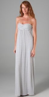 Splendid Chambray Stripe Maxi Dress