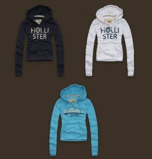Hollister Womens Jack Creek Hoodie Sweatshirt