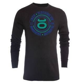 Jaco Clothing MMA Innovative Authentic Bamboo Black Mens Thermal Shirt