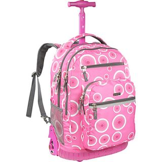 World Sundance Laptop Rolling Backpack Pink Target