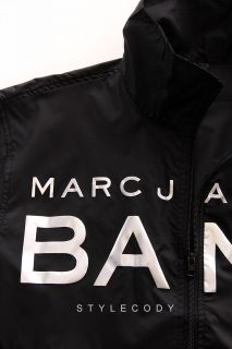 New Marc Jacobs Mens Windbreaker Jacket Black One Size