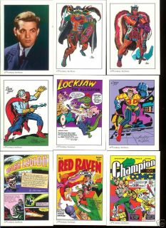 Jack Kirby Comic Art 1994 50 Card Tribute Coll Card Set