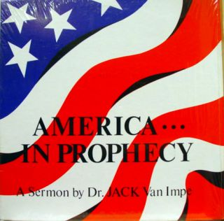 Jack Van Impe America in Prophecy Sermon LP Vinyl