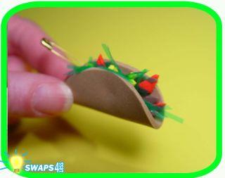 Mini Taco Mexico Scout Swaps Girl Craft Kit SWAPS4LESS