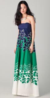 DSQUARED2 Floral Print Maxi Dress