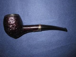 ESTATE SER JACOPO ARTISAN COLLECTORS PIPE W/.925 BAND EXCELLENT AS IS