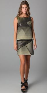 Sachin + Babi Ombre Drop Waist Dress