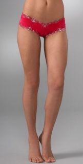 Honeydew Intimates Metallic Lace Boy Shorts