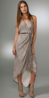 Haute Hippie Wrap Dress