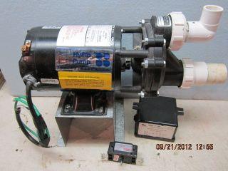 Smith Whirlpool Bathtub 3 4 Hyflo Pump Series 6000 Hydrabath