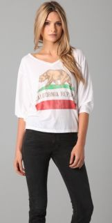 Chaser California Republic Bear Tee