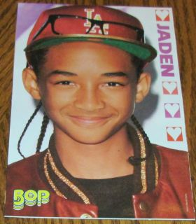 Jaden Smith Locker Pinup clipping 5x8 Cute Teen Boy Actor The Karate