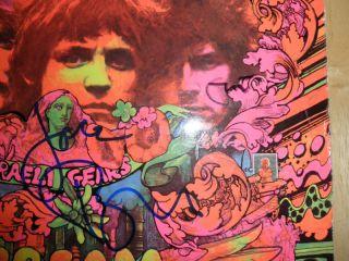 Eric Clapton Jack Bruce Signed Cream LP X2 Exact Proof