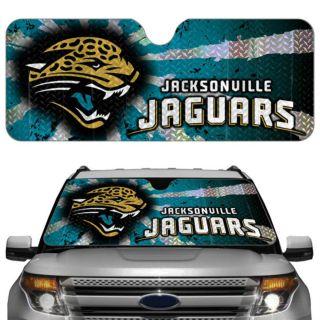 Jacksonville Jaguars Licensed NFL Reflective Car Windshield Sun Shade