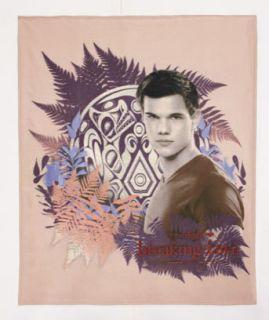 Jacob Twilight Breaking Dawn Saga Fleece Throw Blanket 50 x 60