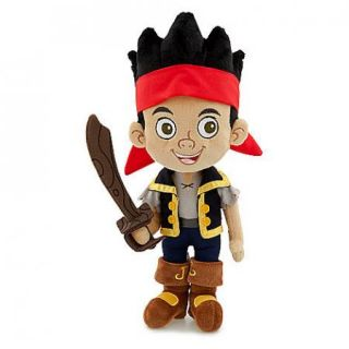 to Find Jake and the Neverland Pirates 14 Plush Jake Pirate Doll NEW