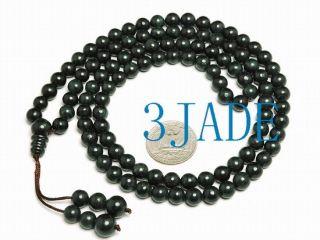 32 Black Jade Meditation Yoga 108 Prayer Beads Mala