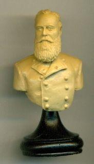 Worster 120mm Resin Bust Confederate General James Longstreet