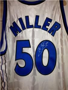 Mike Miller Orlando Magic NBA Rookie of The Year Autographed Jersey
