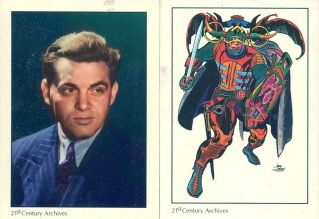 Jack Kirby Comic Art Tribute 1994 Base Card Set