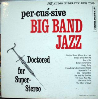 Per Cus Sive Big Band Jazz Bobby Christian Syringe LP