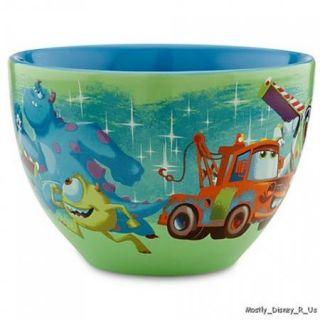 New  25th Anniversary Pixar Cast Characters Coffee Mug