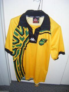 Vtg Kappa 1998 Jamaica Jersey Shirt Soccer Football Jamaican