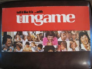 Ungame Tell It Like It Is Vintage Board Game Dr James Dobson