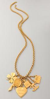 WGACA Vintage Vintage Chanel Lucky Charm Necklace