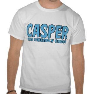 Casper the Friendly Ghost Blue Logo 1 T shirts