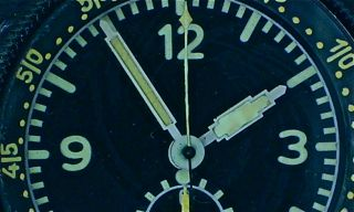WW2 Junghans Military Chrono German Air Force Bo UK1 Aircraft Clock