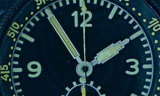 WW2 Junghans Military Chrono German Air Force Bo UK1 Aircraft Clock