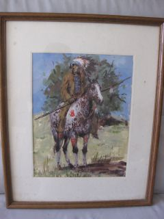 James L Colt 1922 2005 Listed American Artist