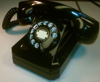 Deco Restored Vintage Antique 1938 Stromberg Carlson Telephone