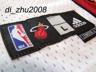Miami Heat Lebron James 6 Swingman NBA Jersey Shorts