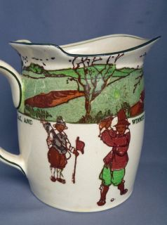 RARE Royal Doulton Golfing Crombie Series Ware Tankard Pitcher Water