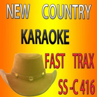 Fast Trax SS C417 New Karaoke CD G July 2012 9 Country Tracks Original