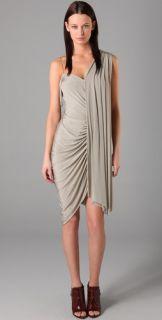 Alexander Wang Draped Jersey Dress